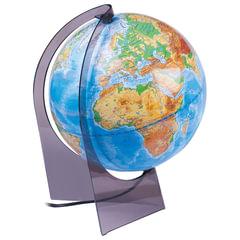 Глобус физический, диаметр 210 мм, с подсветкой