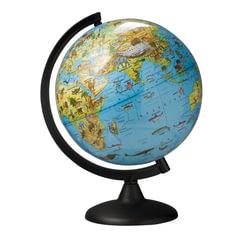 Глобус зоогеографический, диаметр 250 мм