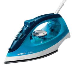 Утюг PHILIPS GC1436/20, 2000 Вт, антипригарное покрытие, самоочистка, голубой