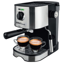 Кофеварка рожковая SCARLETT SL-CM53001, 850 Вт, 15 бар, капучинатор, черная