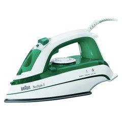 Утюг BRAUN TS345, 2000 Вт, керамическое покрытие, самоочистка, белый/зеленый