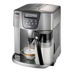Кофемашина DELONGHI ESAM4500, 1350 Вт, объем 1,8 л, емкость для зерен 200 г, автокапучинатор, серебристая