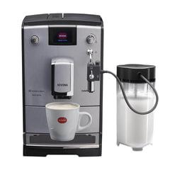 Кофемашина NIVONA NICR670, 1455 Вт, объем 2,2 л, емкость для зерен 250 г, ручной капучинатор, подсветка, серебристый