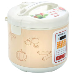 Мультиварка POLARIS PMC 0507D Kitchen, 700 Вт, 5 л, 11 программ, таймер, бежевый