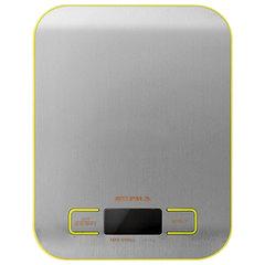Весы кухонные SUPRA BSS-4075, электронный дисплей, max вес 5 кг, тарокомпенсация, сталь