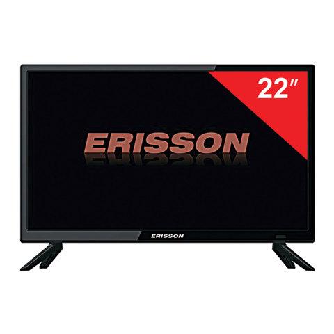 Телевизор ERISSON 22'' (55,9 см) 22LES50T2, 1920х1080 Full HD, 50 Гц, HDMI, USB, черный, 1,8 кг