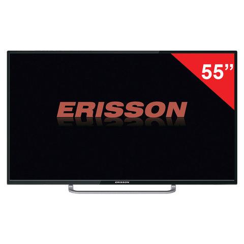 Телевизор ERISSON 55'' (139,7 см), 55ULES90T2SM, 3840х2160 UHD, Smart TV, 50 Гц, 3 HDMI, USB, черный, 4,2 кг