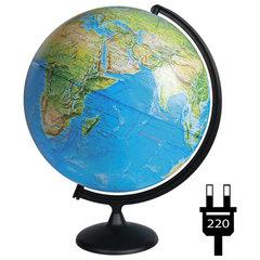 Глобус физический/политический диаметр 420 мм, с подсветкой