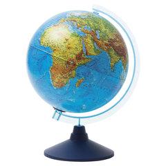 """Глобус физический/политический подсветка от батареек, GLOBEN """"Классик Евро"""", 250 мм, Ве012500257"""