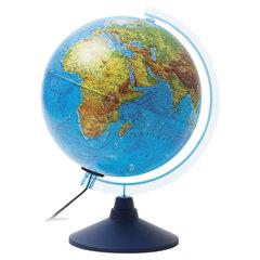 """Глобус физический/политический GLOBEN """"Классик Евро"""", диаметр 250 мм, рельефный, с подсветкой, Ке022500195"""
