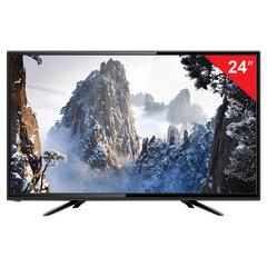Телевизор ERISSON 24LEK85T2, 24'' (60 см), 1366х768, HD, 16:9, черный