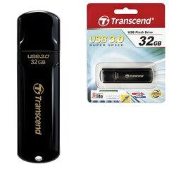 Флеш-диск 32 GB, TRANSCEND Jetflash 700, USB 3.0, черный, TS32GJF700
