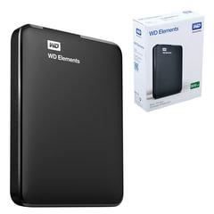"""Внешний жесткий диск WESTERN DIGITAL Elements Portable 500 GB, 2.5"""", USB 3.0, черный"""