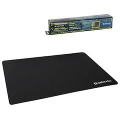 Коврик для мыши DEFENDER GP-700 Thor, полиуретан+лайкра, 350x260x3 мм, черный