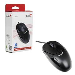 Мышь проводная оптическая GENIUS XScroll V3, USB, 2 кнопки + 1 колесо-кнопка, чёрный