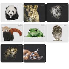 Коврик для мыши DEFENDER Wild Animals, резина+джерси, 220x180x2 мм, 8 видов