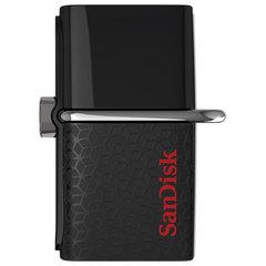 Флеш-диск 16 GB, SANDISK Ultra Android Dual, USB 3.0, черный, DD2-016G-GAM46