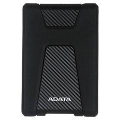 "Внешний жесткий диск A-DATA DashDrive Durable HD650 1TB, 2.5"", USB 3.1, черный, AHD650-1TU31-CBK"