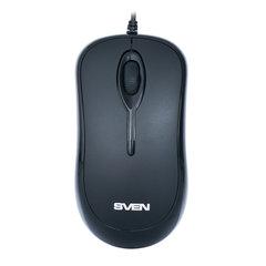 Мышь проводная SVEN RX-165, USB, 2 кнопки + 1 колесо-кнопка, оптическая, чёрная