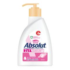 """Мыло жидкое антибактериальное 250 мл ABSOLUT (Абсолют) """"Нежное"""", дозатор, не содержит триклозан, 5061"""