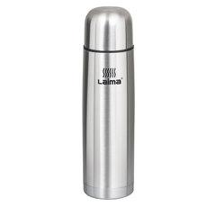Термос LAIMA классический с узким горлом, 0,5 л, нержавеющая сталь, 601412