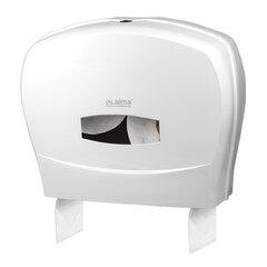 Диспенсер для туалетной бумаги LAIMA PROFESSIONAL CLASSIC (Система T1/T2), большой, белый, 601428