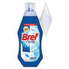 """Блок туалетный подвесной жидкий 360 мл BREF (Бреф) """"Волна свежести"""", наливной диспенсер"""
