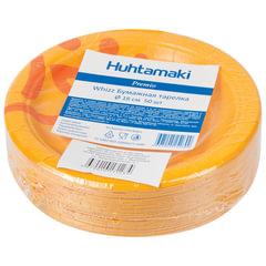 "Одноразовые тарелки ""Хухтамаки"", комплект 50 шт., картон, диаметр 180 мм, ""Whizz"", для холодного/горячего"