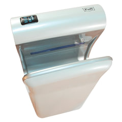 Сушилка для рук PUFF 8870, 2000 Вт, погружного типа, время сушки 10 секунд, пластик, белая