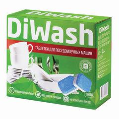 Таблетки для посудомоечных машин 100 шт., DIWASH