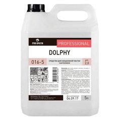 Средство для уборки сантехнических блоков 5 л, PRO-BRITE DOLPHY, кислотное, концентрат, гель