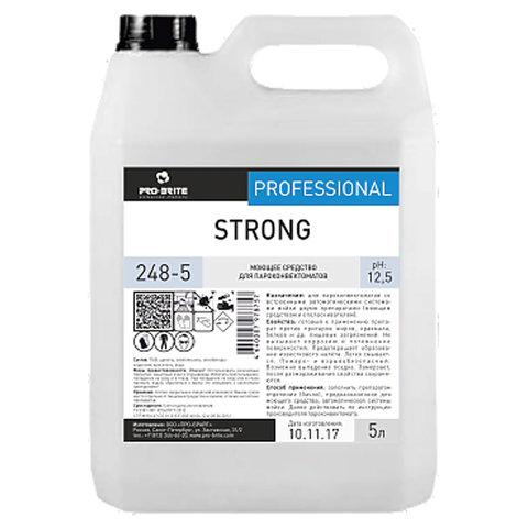 Средство моющее для пароконвектоматов 5 л, PRO-BRITE STRONG, щелочное