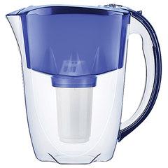 """Кувшин-фильтр для очистки воды АКВАФОР """"Престиж А5"""", 2,8 л, со сменной кассетой, синий"""