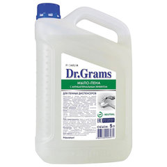 Мыло-пена 5 л DR.GRAMS, с антибактериальным эффектом