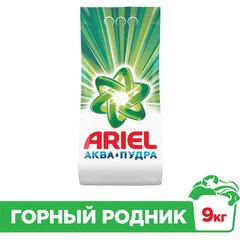 """Стиральный порошок автомат 9 кг ARIEL (Ариэль) """"Горный родник"""""""