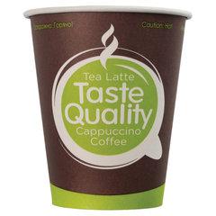 """Одноразовые стаканы 150 мл, КОМПЛЕКТ 100 шт., бумажные однослойные, """"Taste Quality"""", холодное/горячее, для вендинга, ФОРМАЦИЯ, HB70-180-0233"""