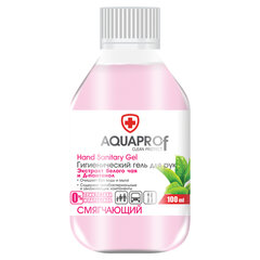 Гель для рук антисептический спиртосодержащий (70%), 100 мл, AQUAPROF Смягчающий