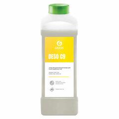 Антисептик для рук и поверхностей спиртосодержащий (70%) 1л GRASS DESO C9, дезинфицирующий, жидкость