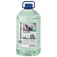 Антисептик для рук (спирт более 70%) 5 л MANUFACTOR, дезинфицирующий, жидкость