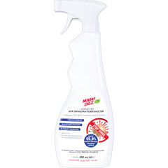 Средство спиртосодержащее (70%) для обработки поверхностей 500 мл MISTER DEZ Eco cleaning, распылитель