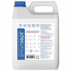 Антисептик для рук и поверхностей спиртосодержащий (70%) 5 л SMARTSEPT, дезинфицирующий, жидкость