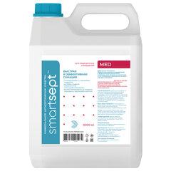 Антисептик для рук и поверхностей спиртосодержащий (70%) 5л SMARTSEPT MED, дезинфицирующий, жидкость