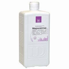 Антисептик для рук спиртосодержащий (60%) 1л МИРОСЕПТИК, дезинфицирующий, жидкость