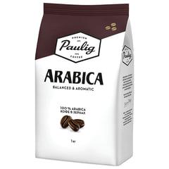 """Кофе в зернах PAULIG (Паулиг) """"Arabica"""", натуральный, 1000 г, вакуумная упаковка, 16282/16316"""