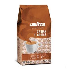 """Кофе в зернах LAVAZZA """"Crema E Aroma"""", 1000 г, вакуумная упаковка, 2444"""