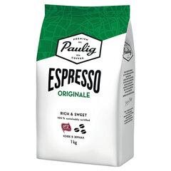 """Кофе в зернах PAULIG (Паулиг) """"Espresso Originale"""", натуральный, 1 кг, вакуумная упаковка, 16727"""