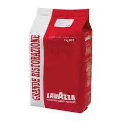 """Кофе в зернах LAVAZZA (Лавацца) """"Grande Ristorazione Rossa"""", натуральный, 1000 г, вакуумная упаковка"""