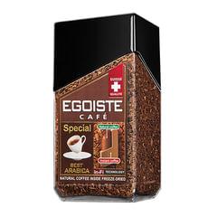 """Кофе молотый в растворимом EGOISTE """"Special"""", натуральный, 100 г, 100% арабика, стеклянная банка"""