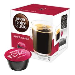 """Капсулы для кофемашин NESCAFE Dolce Gusto """"Americano"""", натуральный кофе, 16 шт. х 10 г"""