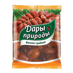Сухофрукты ДАРЫ ПРИРОДЫ, финики сушеные, 250 г